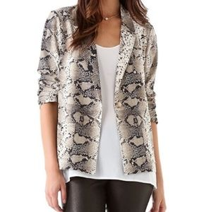 Elizabeth and James Snake Python Blazer